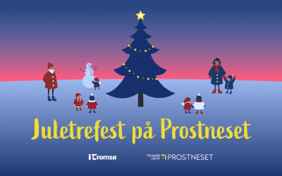 Juletrefest på Prostneset